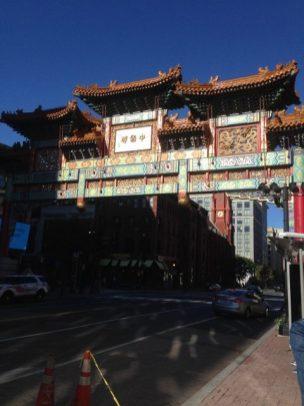 Vjezd do Chinatown, washington