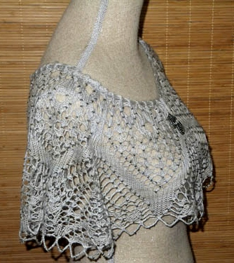 Fiona's test knit of Summer Whimsey - just released.