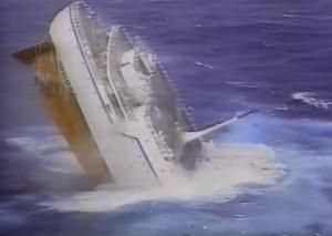オシアノス号 沈没