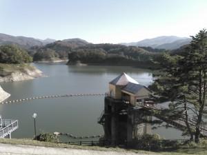 皆瀬ダム (5) ダム湖