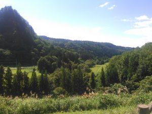 由利本荘市 田園風景