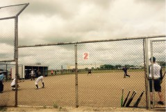 Match amical de baseball