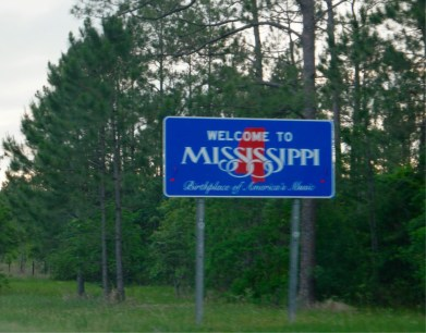 Welcome to Mississippi - Etats-Unis