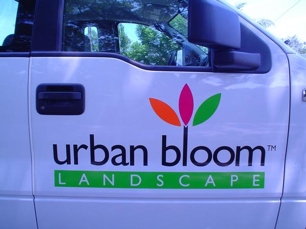Truck Decals for Urban Bloom