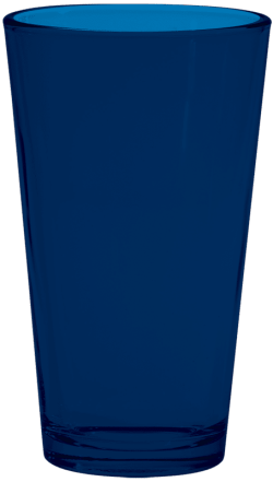 Navy Colored Pint Glass