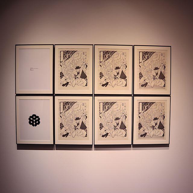 昨日は親友と東京でアートな1日。デヴィッドボウイの浮世絵展へ。なんとも絵になるお方です️ (Instagram)