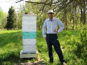 Jason Bruns Honey Bee Trapper