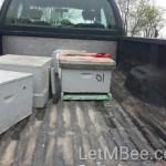 CatchBox 01 in the truck