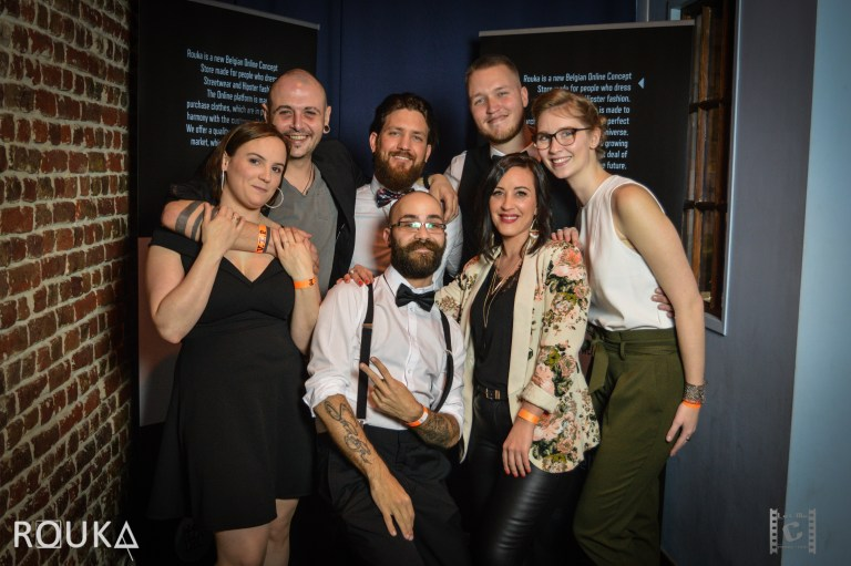 Gala opening Rouka Concept-Store @ Smouss Cafe Bxl (31/03/2018)