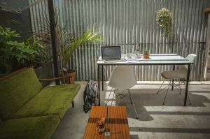 Working remotely perks - working outside