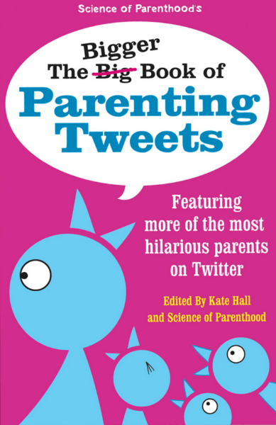 The Bigger Book of Parenting Tweets is the best-selling collection of funny parenting tweets featuring Kim Bongiorno.