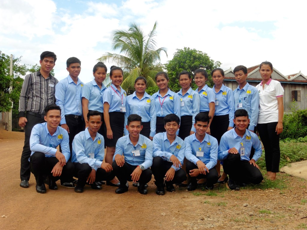 2016 Le Tonlé Trainees
