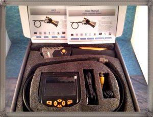 endoscope avec écran
