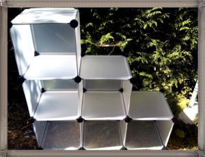 cubes de rangement modulables