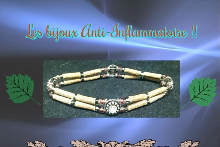 Le top des testeuses Pur Noisetier, Les bijoux Anti-Inflammatoire !! Bijoux Bracelets