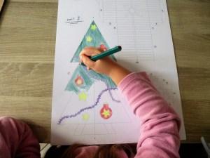 Le top des testeuses Boniface le Sapin de Noël de chez Dame Fourmi Loisirs