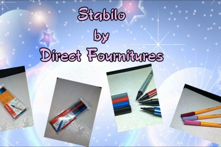 Le top des testeuses Stabilo®, le confort de l'écriture !!! Direct Fournitures