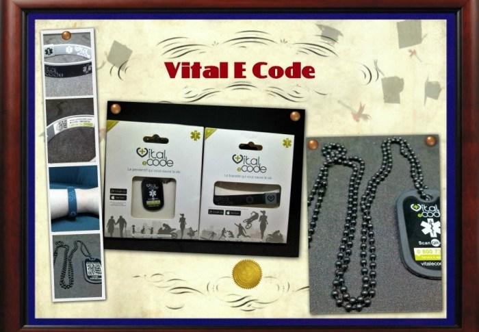 Bracelet et Collier Vital E Code