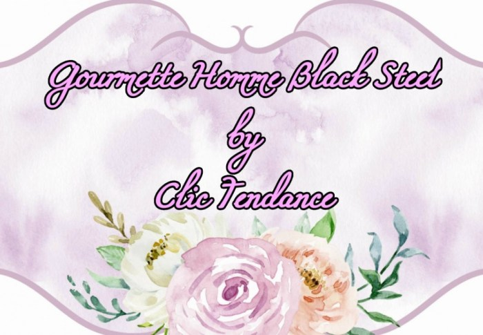 Gourmette Homme Black Steel by Clic Tendance