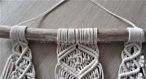 Collier de mur en Macramé
