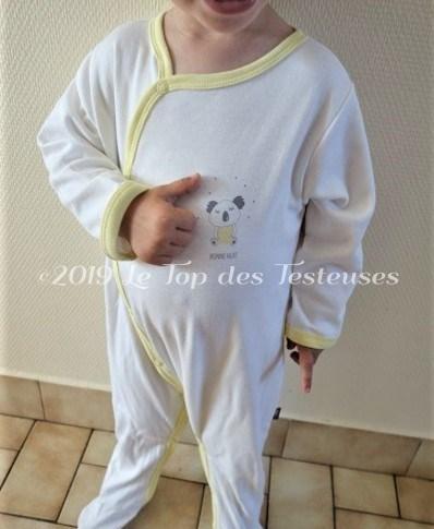 Un pyjama Bio ? l'avis d'Emily sur Kadolis
