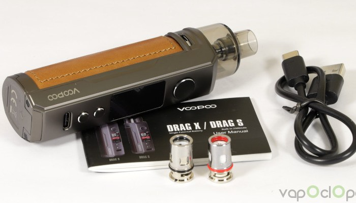 Nous avons testé la cigarette électronique Drag X de Voopoo