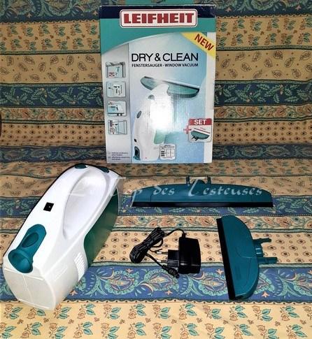 Vous connaissez le lave-vitre électrique Dry & Clean Leifheit ?