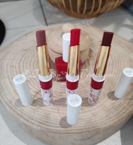 L'avis de Karina sur les rouges à lèvres Nude Expérience !!