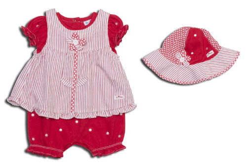 Hanh's le•top secret contest prize: Daisy Dots Romper from the Spring 09 Collection