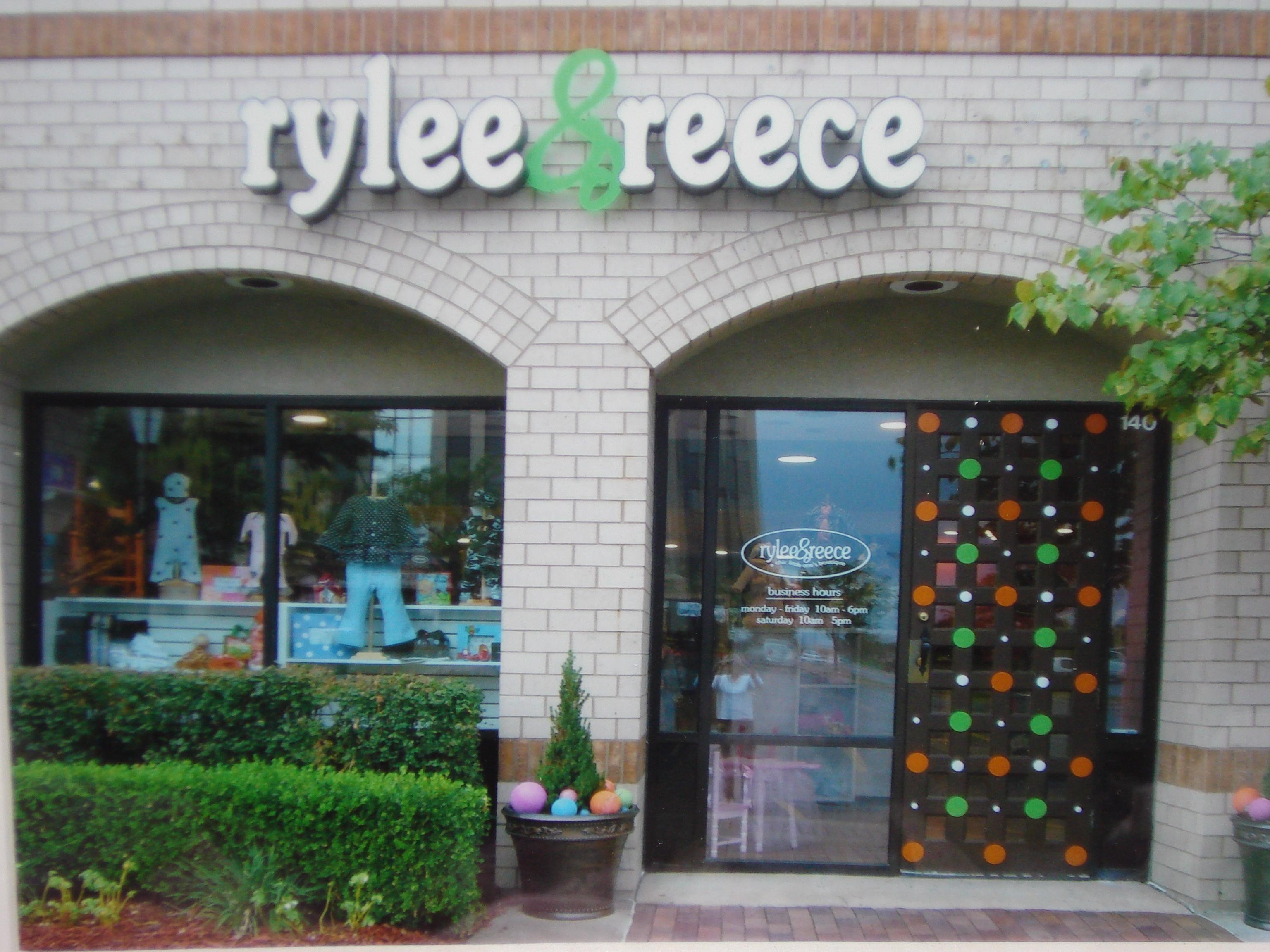 Rylee & Reece Store Front
