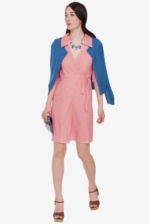 Ava Easton Wrap Dress
