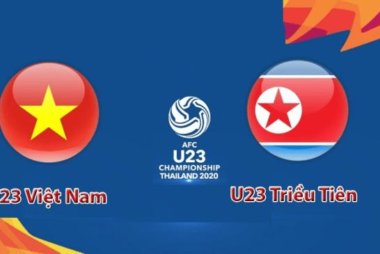 Nhận định trận đấu U23 Việt Nam vs U23 Triều Tiên 20h15' ngày 16/01/2020