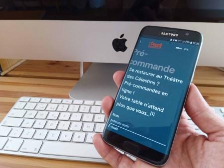 Application mobile PRE-COMMANDE de l'Etourdi