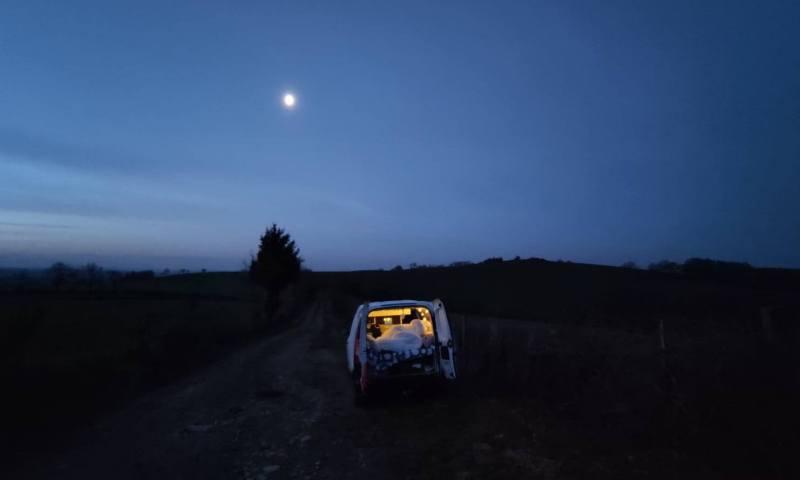 Van life nuit