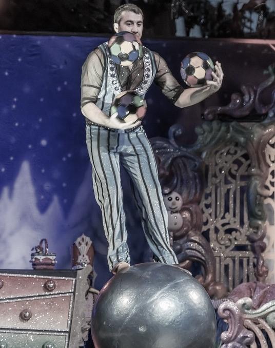 équilibre et jonglage