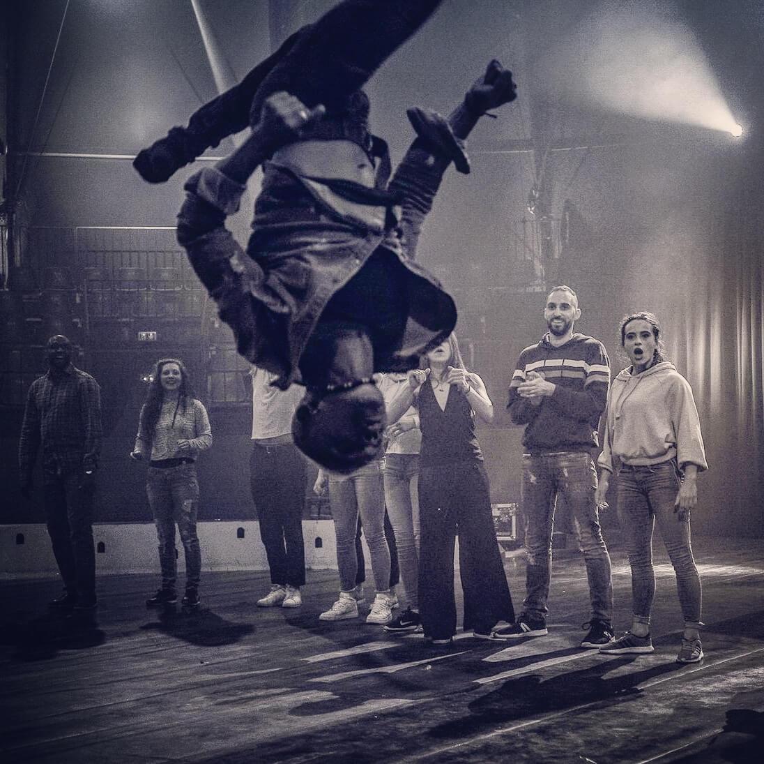 ecole des arts - acrobatie - stunt - Ahmed Said
