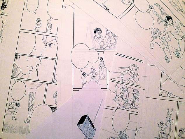 """Páginas originales de """"Olimpycs"""""""