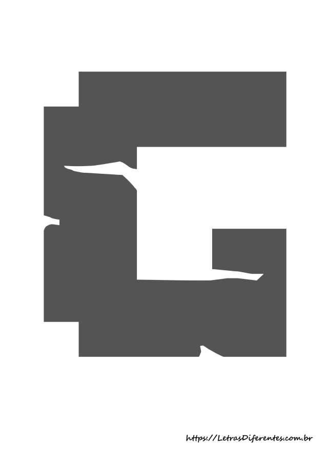 alfabeto letras g minecraft para imprimir (8)