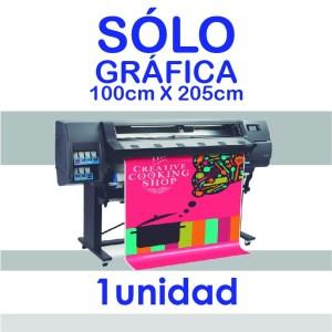 Gráfica para Roll Up 100 x 205 cm