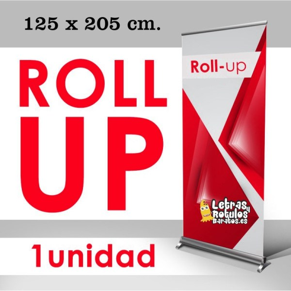 Roll up 125 x 205 cm.
