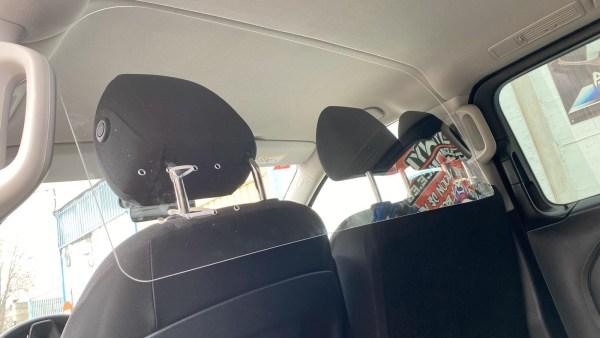 Mampara Protector Vehículos Especial COVID19 (Tipo Viano/VIto)