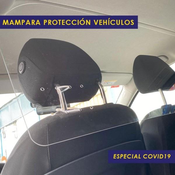 Mampara Protector Vehículos Especial COVID19