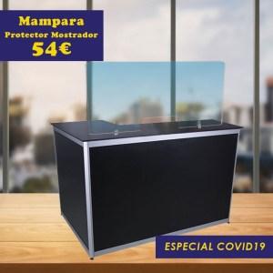 Mampara Protector Mostrador Especial COVID19