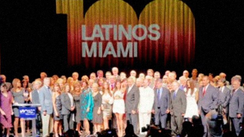 Palabras de apertura en la ceremonia 100 Latinos/Hispanos Miami 2012 | Letra Urbana
