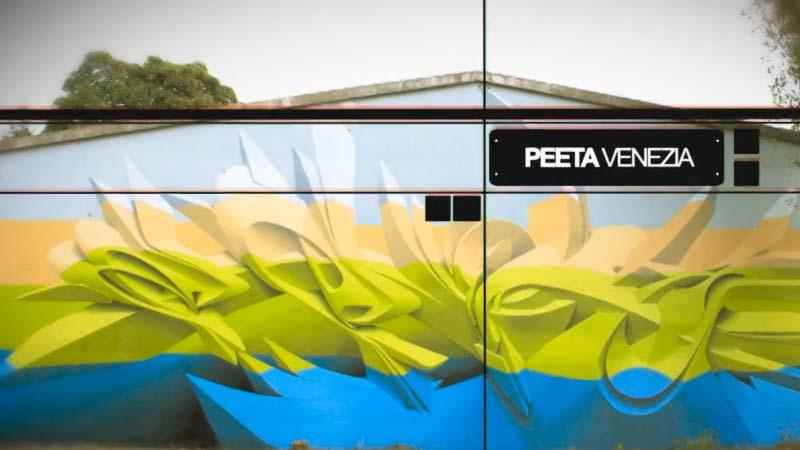 Los graffiti de Peeta. | Letra Urbana