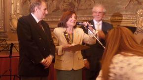 María Rosa Lojo en la entrega de los Premios APA 2014