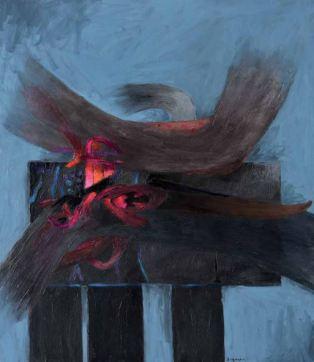 CEREMONIA Acrylic on canvas