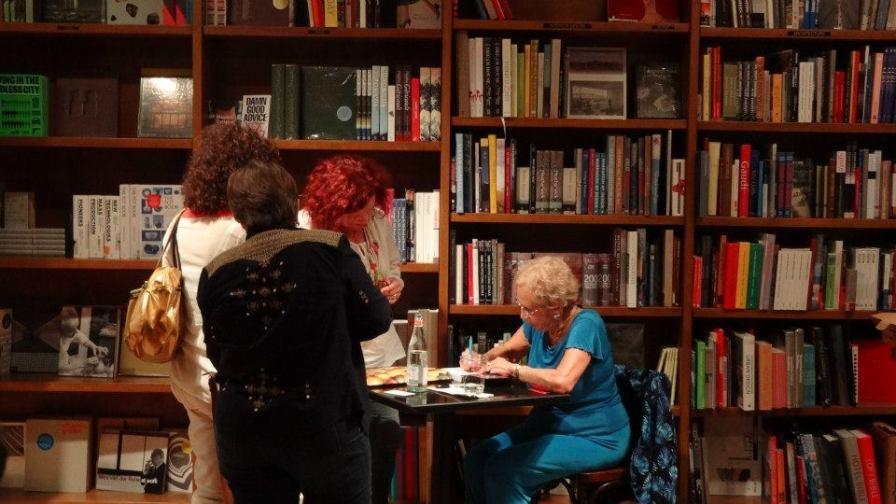 Lágrimas secas. Encuentros @ Books and Books