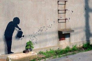 Gulliver - Un trabajo surrealista que juegue con la escala de diferentes elementos