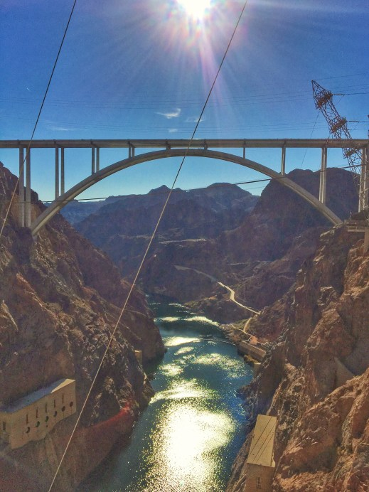 Bridge at the Hoover Dam